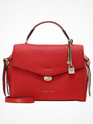 Handväskor - MICHAEL Michael Kors LENOX SATCHEL Handväska bright red