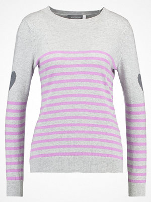 Mint Velvet Stickad tröja grey/violet