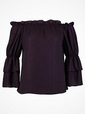 Dorothy Perkins SHIMMER BARDOT Blus purple