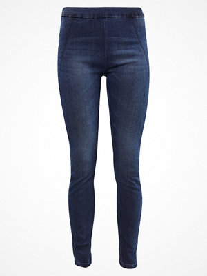 Vero Moda VMSEVENA  Jeans slim fit dark blue denim