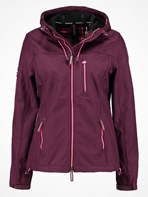 Superdry HOODED WINDTREKKER Allvädersjacka deep plum/fluro pink
