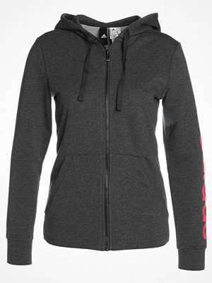 Adidas Performance ESS LIN Sweatshirt darkgreyheather/reacor