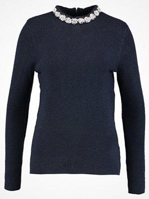Dorothy Perkins NECK JUMPER Stickad tröja navy