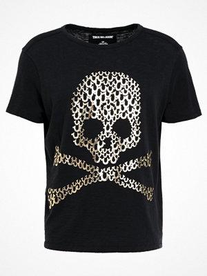 True Religion SKULL Tshirt med tryck black