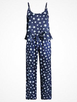 Pyjamas & myskläder - Topshop STAR PRINT SET Pyjamas navy blue