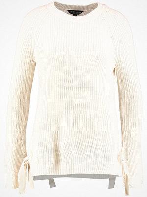 Dorothy Perkins METAL EYELET Stickad tröja ivory