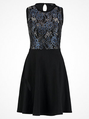 Dorothy Perkins SLESS DRESS Jerseyklänning blue/black