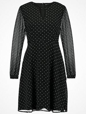 Only ONLEMMA SHORT DRESS Sommarklänning black/white