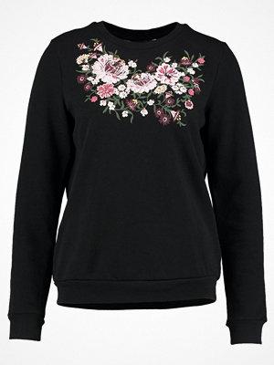 Dorothy Perkins EMBROIDERED  Sweatshirt black