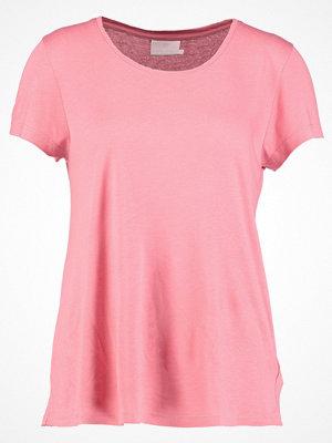Kaffe ANNA O NECK Tshirt bas bright rose