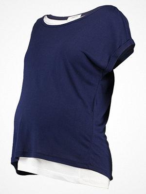 Zalando Essentials Maternity Tshirt med tryck maritime blue
