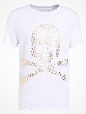 True Religion SKULL Tshirt med tryck weiss