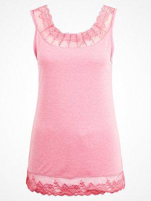 Cream FLORENCE Linne rose pink melange