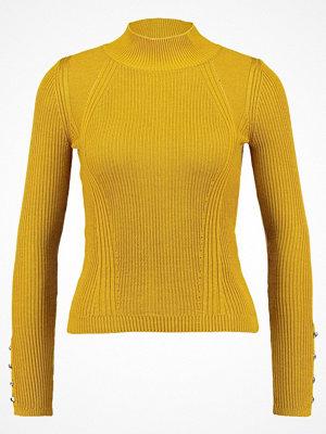 Topshop VERIGATED Stickad tröja mustard