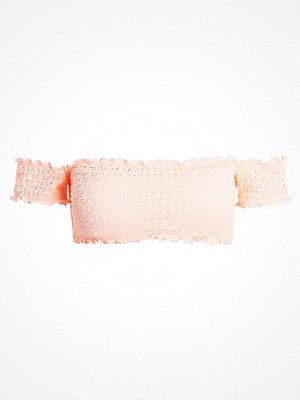 Seafolly COLD SHOULDER BANDEAU Bikiniöverdel peach