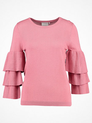 Kaffe EVIE Stickad tröja bright rose