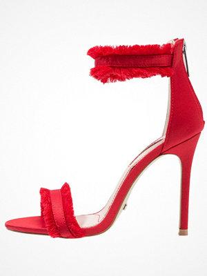 Topshop RILEY FRINGE Sandaletter red