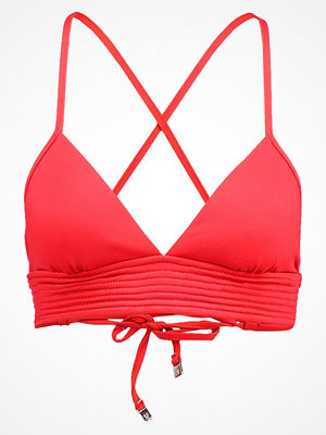 Seafolly QUILTED TRI Bikiniöverdel chilli red