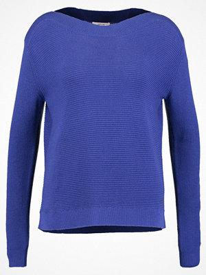 Opus PAULITA Stickad tröja blue anemone