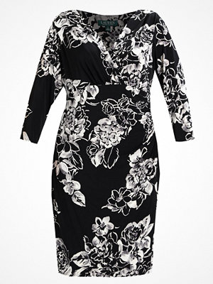 Lauren Ralph Lauren Woman HELMSDALE ELSIE Jerseyklänning black/grey/multi