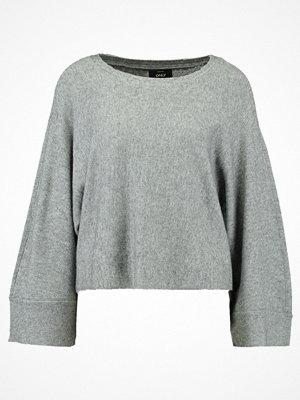 Only ONLLIVENCY Stickad tröja medium grey melange