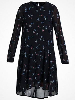Vero Moda VMNULLE LS KNEE DRESS Sommarklänning night sky/nulle print