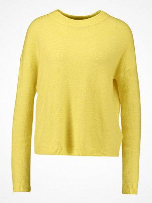 Vero Moda VMRANA ONECK Stickad tröja cream gold/melange