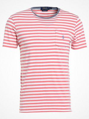 Polo Ralph Lauren CUSTOM SLIM FIT Tshirt med tryck hyannis red/white