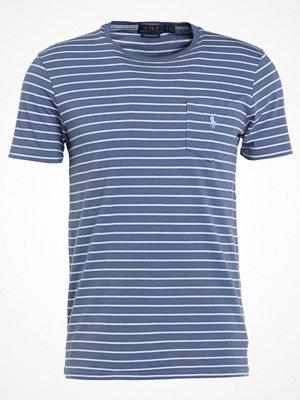 Polo Ralph Lauren CUSTOM SLIM FIT Tshirt med tryck shale blue/austin
