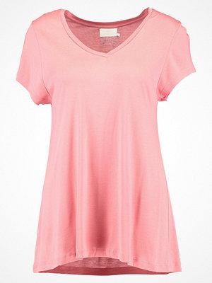 Kaffe ANNA V NECK  Tshirt bas bright rose