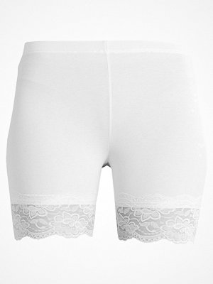 Cream MATILDA BIKER Shorts optical white