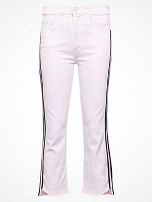 Mother INSIDER CROP STEP FRAY Jeans bootcut white