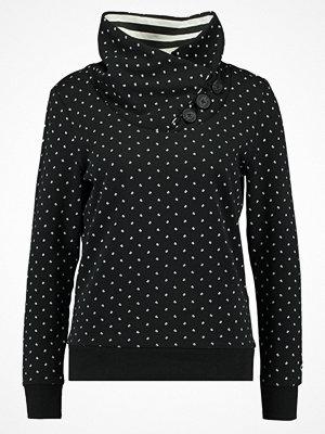 Only ONLNADINE HIGHNECK Sweatshirt black/cloud dancer