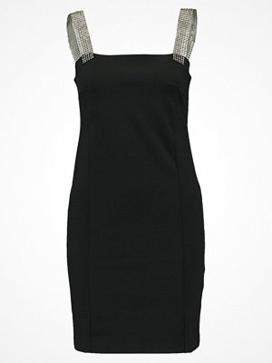 Topshop BLING STRAP CLUBBER Jerseyklänning black