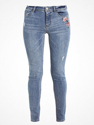 Springfield SKINNY BORDADA Jeans Skinny Fit blues