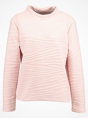 Selected Femme SFMYAN HIGHNECK  Stickad tröja sepia rose