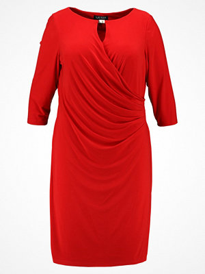 Lauren Ralph Lauren Woman MATE KELBY Jerseyklänning parlor red