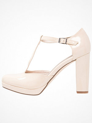 Tamaris Klassiska pumps cream