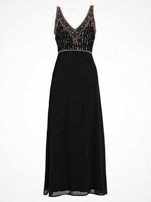 Lace & Beads REGINA MAXI Festklänning black