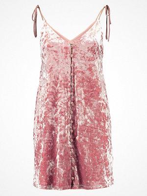 Topshop STAR Jerseyklänning soft pink