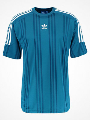T-shirts - Adidas Originals Tshirt med tryck real teal/white