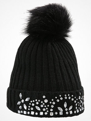 Mössor - Miss Selfridge JEWEL HAT     Mössa black