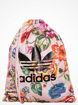 Adidas Originals FLORALITA  Ryggsäck rosa/schwarz/blau