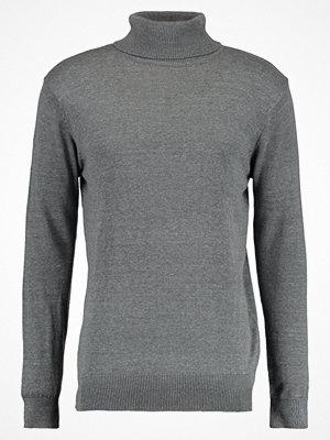 Brave Soul Stickad tröja heather grey