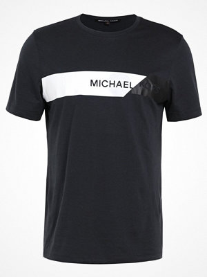 T-shirts - Michael Kors GEO CHEST Tshirt med tryck black