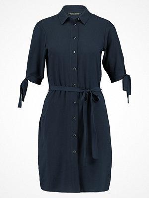 Dorothy Perkins TIE SLEEVE DRESS Skjortklänning dark blue