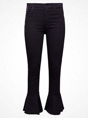 Mother THE CHA CHA FRAY Jeans bootcut black denim
