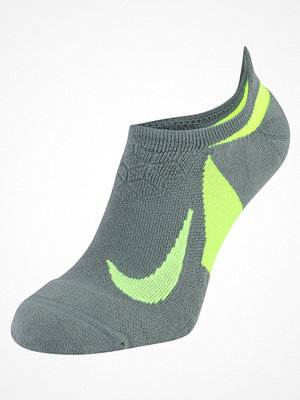 Nike Performance DRY ELITE CUSHIONED NOSHOW RUNNING Ankelsockor clay green/volt