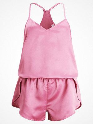 Pyjamas & myskläder - Even&Odd CERYS PLAYSUIT  Pyjamas pink