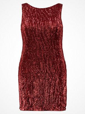 Elvi SEQUIN DRESS  Cocktailklänning red